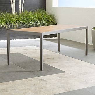 Alfresco Natural Rectangular Dining Table