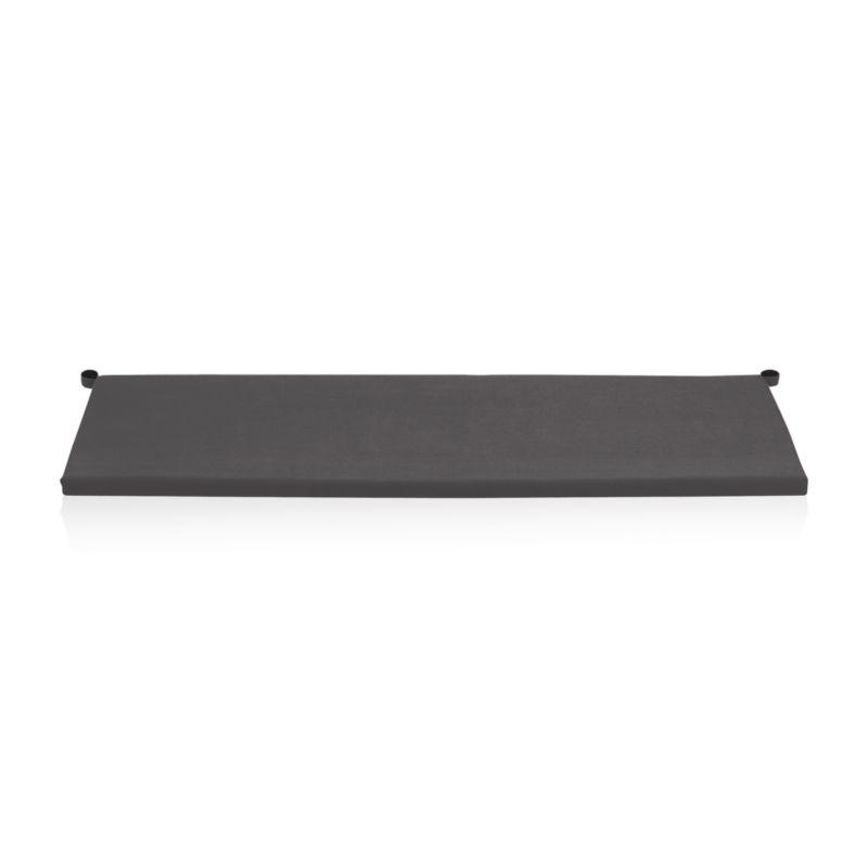 Add extra comfort to Alfresco sofa seating with fade-, water- and mildew-resistant Sunbrella® acrylic cushions in chic charcoal.<br /><br /><NEWTAG/><ul><li>Fade- and mildew-resistant Sunbrella acrylic</li><li>Polyurethane foam cushion fill</li><li>Fabric tab fasteners</li><li>Spot clean</li><li>Made in USA or China</li></ul>