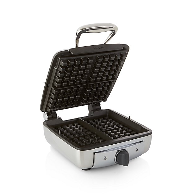 All Clad 174 4 Slice Belgian Waffle Maker Crate And Barrel