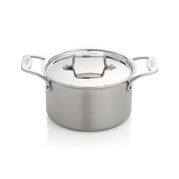 All Clad 174 D5 174 4 Qt Soup Pot In Individual Cookware