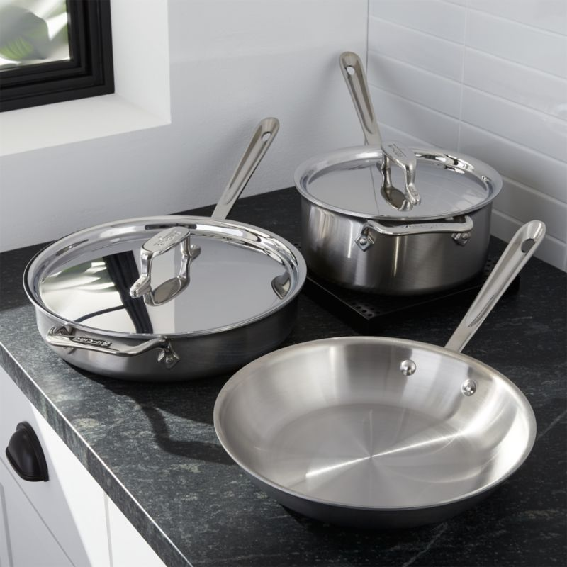 All-Clad ® d5 ® 5-Piece Cookware Set