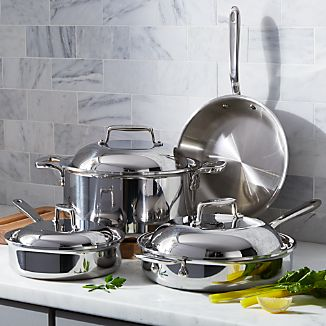 All Clad Cookware Non Stick And Stainless Crate And Barrel