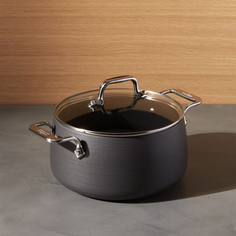 All Clad 174 Ha Hard Anodized Non Stick 4 Qt Soup Pot With