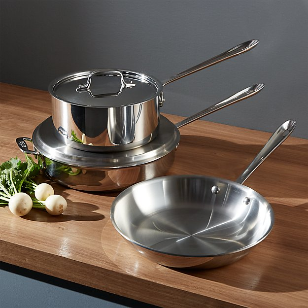 All-Clad ® Stainless 5-Piece Starter Cookware Set