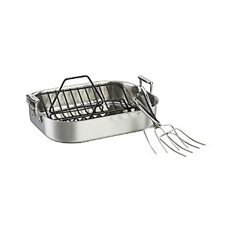 All-Clad ® Stainless Roaster Set
