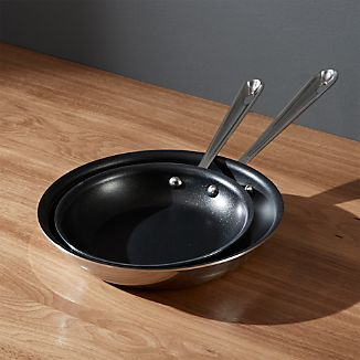 All-Clad ® Stainless Non-Stick Fry Pans