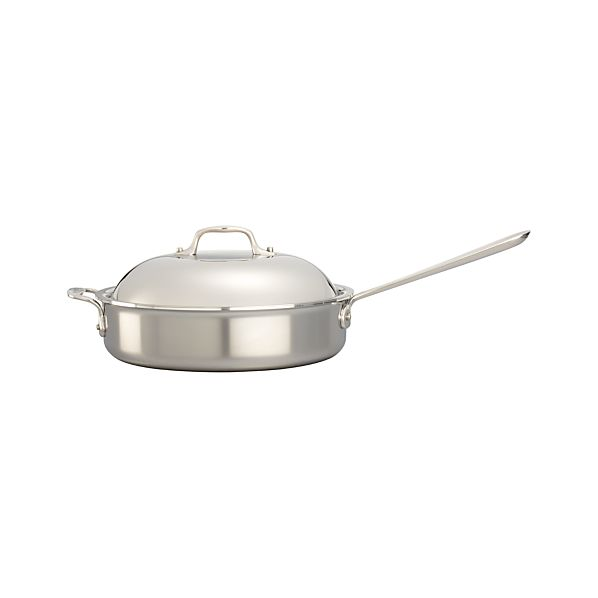 All-Clad ® Stainless 4 qt. Sauté Pan with Domed Lid