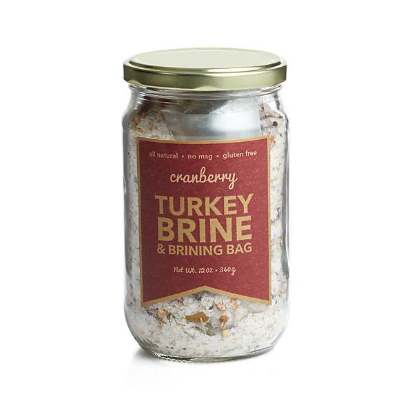Urban Accents Cranberry Turkey Brine & Brining Bag