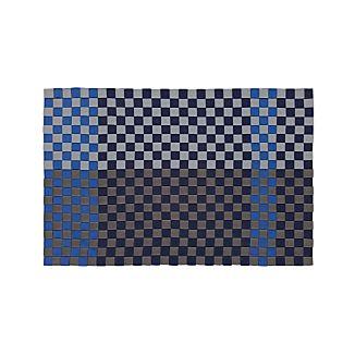 Allta Blue Indoor/Outdoor 2'x3' Rug