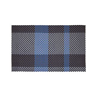 Allta Blue Indoor/Outdoor 5'x8' Rug