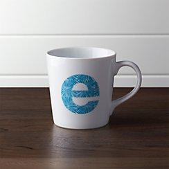 Alphabet E Mug