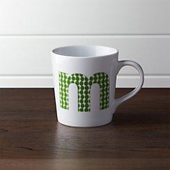Alphabet M Mug
