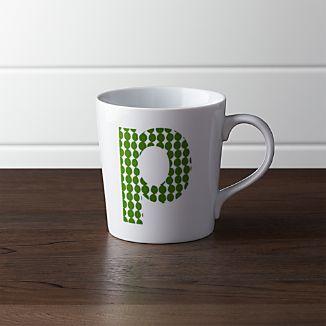 Alphabet P Mug