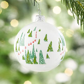 Alpine Ball Ornament