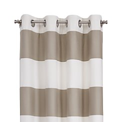"""Alston Khaki 50""""x84"""" Curtain Panel"""