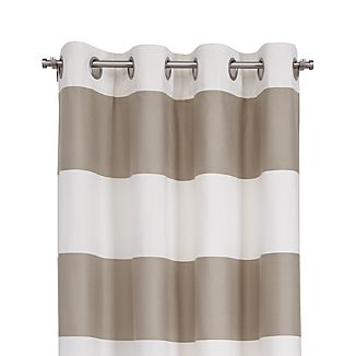 "Alston Khaki 50""x84"" Curtain Panel"