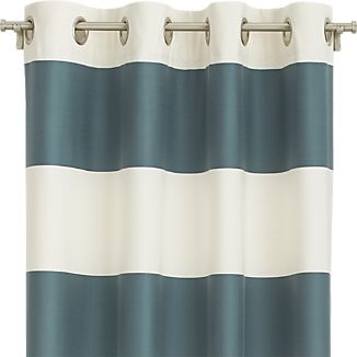 "Alston Slate 50""x96"" Curtain Panel"