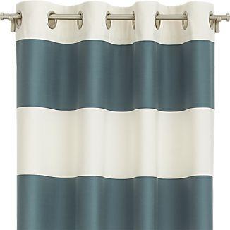 Alston Slate Curtains