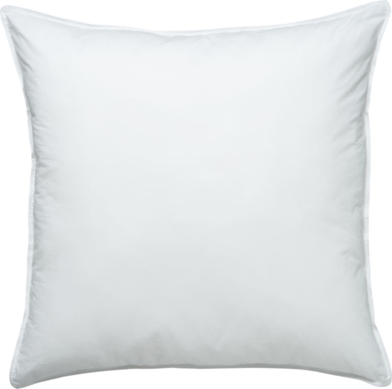 Down-like yet down-free, our plump, hypoallergenic down alternative pillows are encased in 230-thread-count cambric cotton and filled with Italian-crafted synthetic microfiber clusters, developed to closely resemble the feel of the real thing. <a href=/feather-down-bed-pillows/f11504>Feather-Down Bed Pillows</a> and <a href=/premium-down-bed-pillows/f58248>Premium Down Bed Pillows</a> also available.<br /><br /><NEWTAG/><ul><li>100% cambric cotton cover</li><li>Microfiber cluster fill, 29 oz.</li><li>Sized to fit our pillowcases</li><li>Machine wash in warm water, like colors, no bleach</li><li>Tumble dry, medium heat until thoroughly dry</li><li>For best results, professional laundering is recommended</li><li>Do not dry clean</li><li>Made in multiple countries</li></ul>