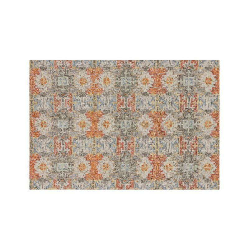 Alvarez Garden Wool-Blend 6'x9' Rug