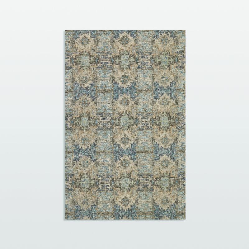 Alvarez Mineral Blue Wool-Blend 5'x8' Rug