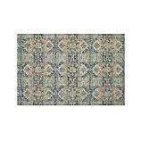 Alvarez Mineral Blue Wool-Blend 6'x9' Rug