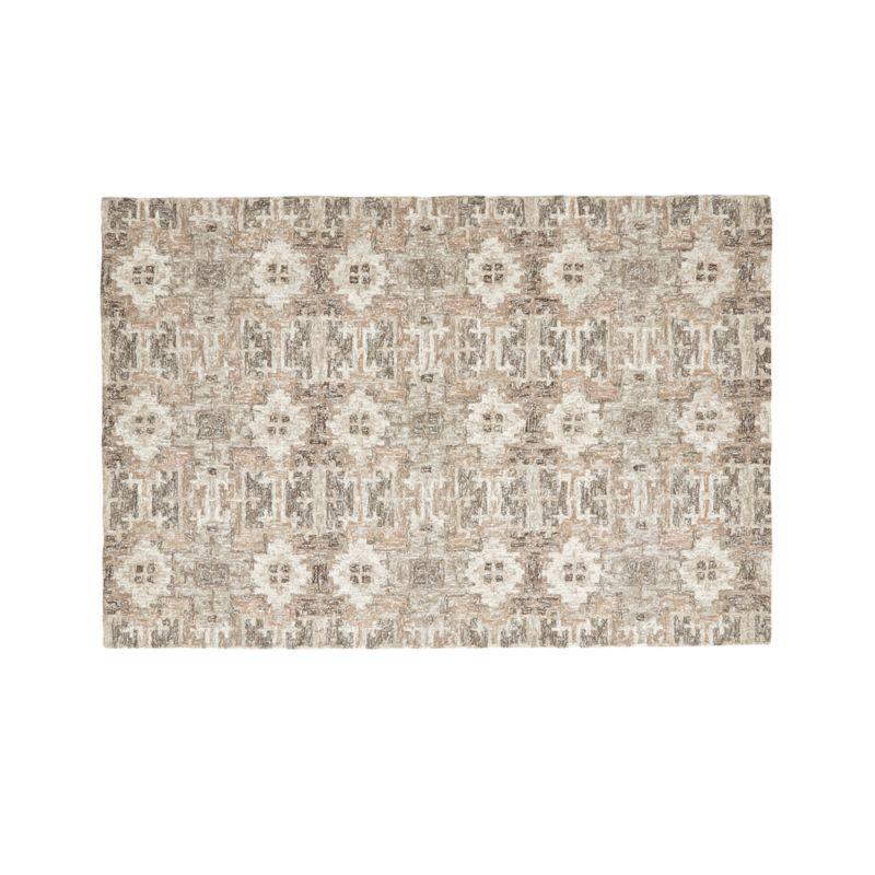 Alvarez Natural Wool-Blend 6'x9' Rug