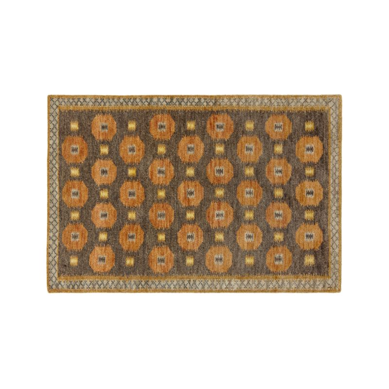 Alvy Autumn Wool-Blend 4'x6' Rug