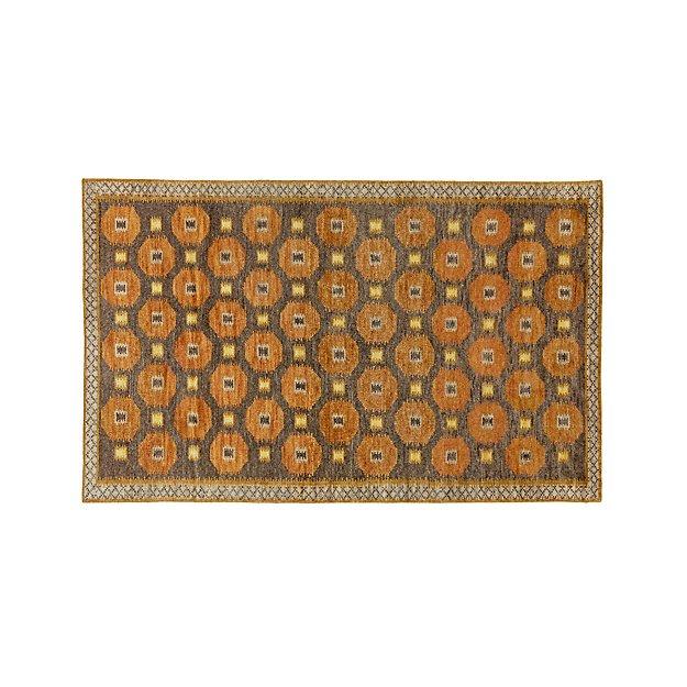 Alvy Autumn Wool-Blend 5'x8' Rug