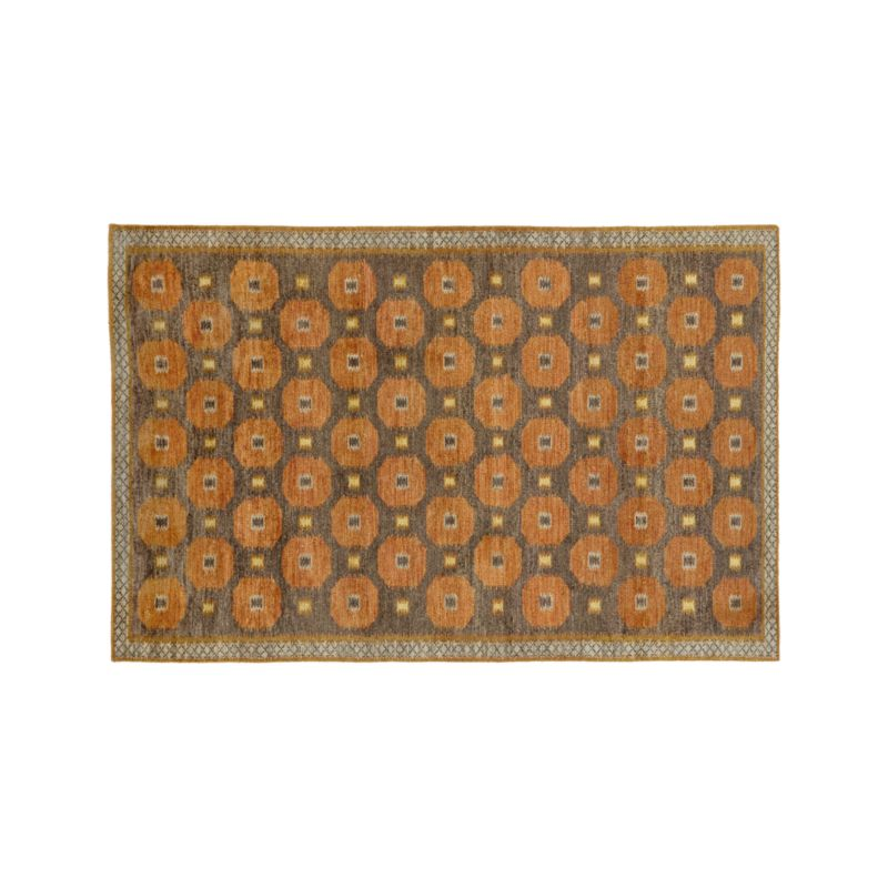 Alvy Autumn Wool-Blend 6'x9' Rug