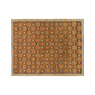 Alvy Autumn Wool-Blend 8'x10' Rug