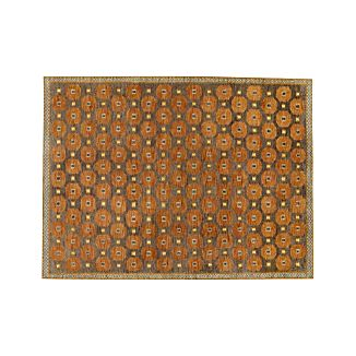 Alvy Autumn Wool-Blend 9'x12' Rug