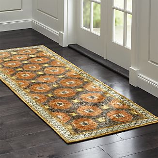 Alvy Autumn Wool-Blend Rug Runner
