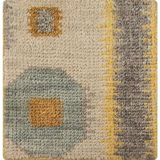 "Alvy Spring Wool-Blend 12"" sq. Rug Swatch"