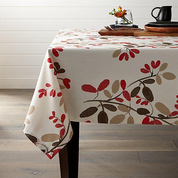 Amelia Floral Tablecloth