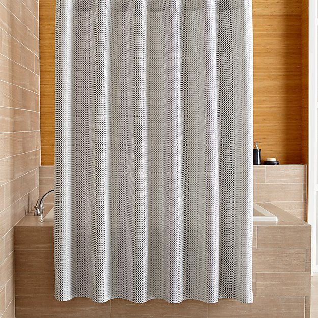 amira shower curtain crate and barrel. Black Bedroom Furniture Sets. Home Design Ideas