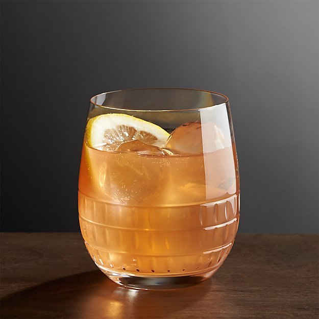 Ana Double Old-Fashioned Glass