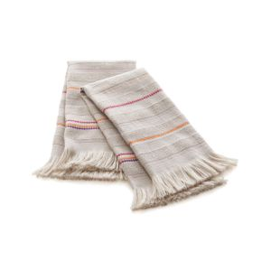 Anabela Striped Guest Towels Set of Two