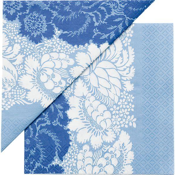 "Set of 20 Marimekko Ananas Paper 6.5"" Napkins"