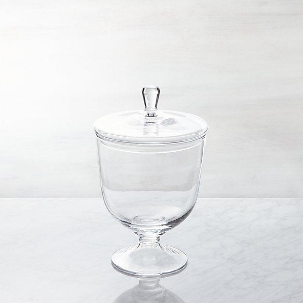 Anastasia Short Covered Jar