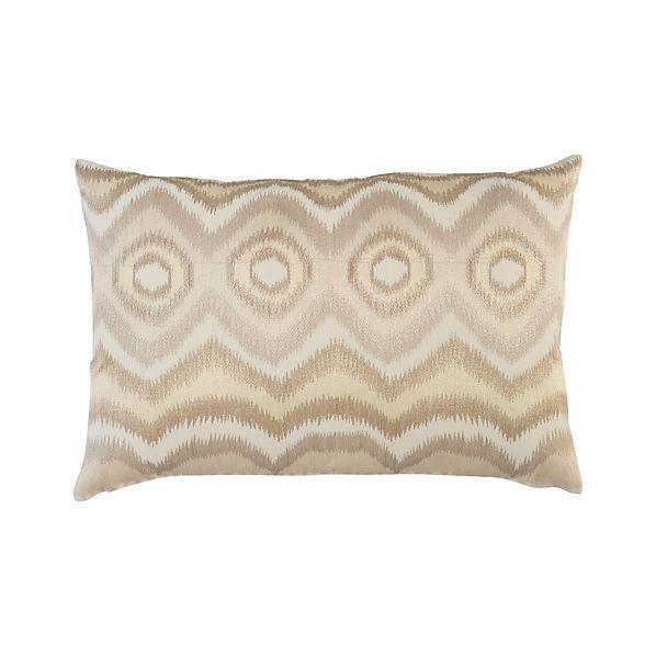 "Anatola Ivory 24""x16"" Pillow"