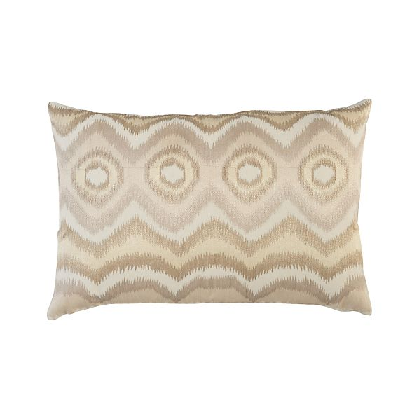 "Anatola Ivory 24""x16"" Pillow"