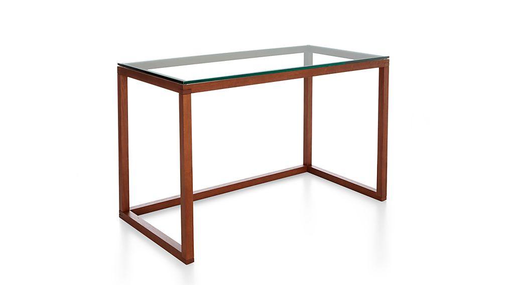 Crate And Barrel Office Desk Greydon Desk In Desks Crate