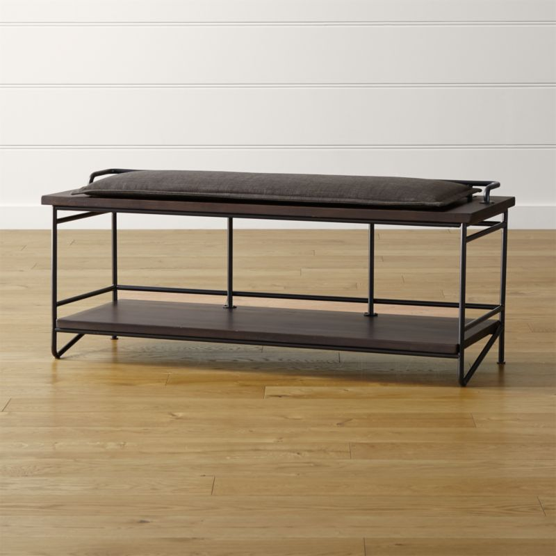 Andes Bench with Cushion