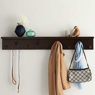 Andes Wall Mounted Coat Rack