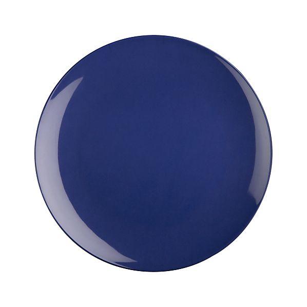 """Andros Blue 10.5"""" Melamine Dinner Plate"""