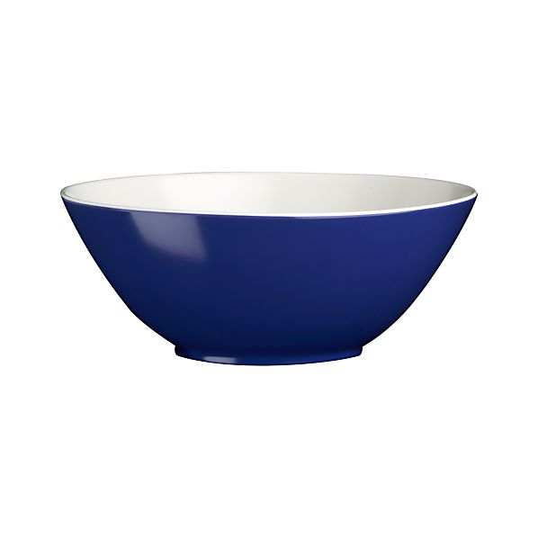 "Andros Blue 7"" Melamine Individual Bowl"