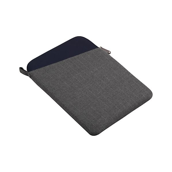 Charcoal Grey Angle Laptop Sleeve