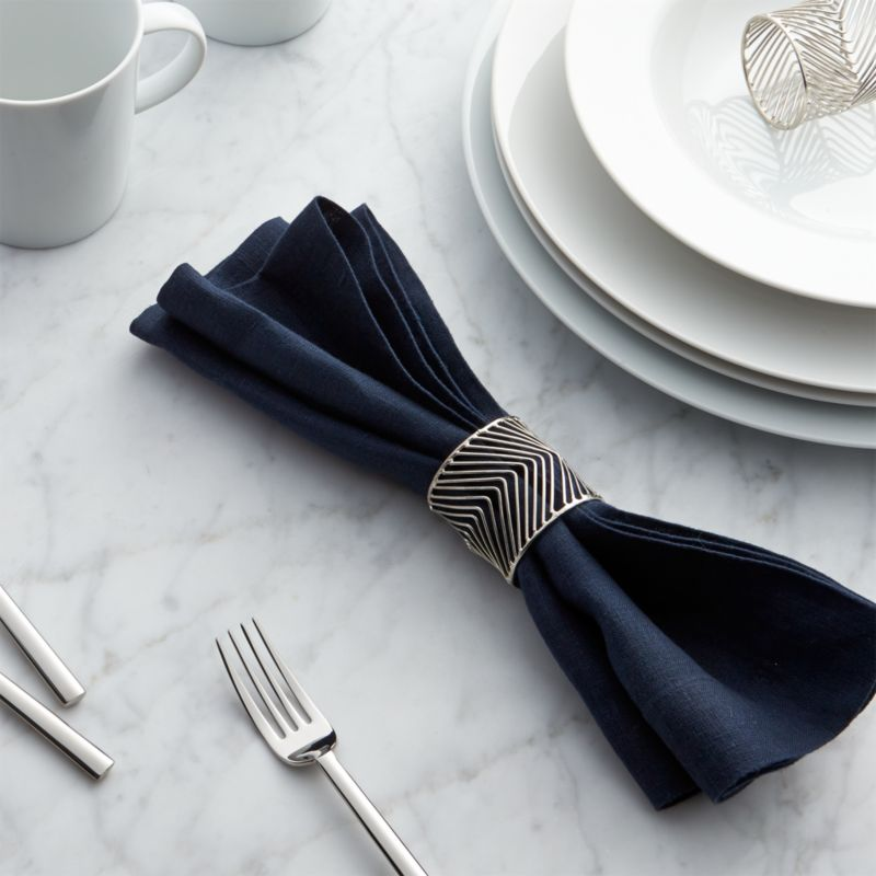 Angle Napkin Ring Crate And Barrel