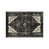 Anice Black Hand Knotted Oriental 10'x14' Rug